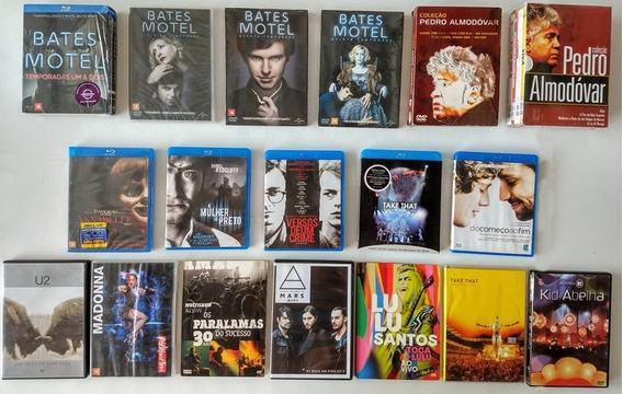 Lote - Blu-rays - Cds - Dvds & Box!!!