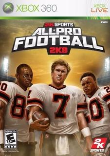 Nfl All Pro Football 2k8 Xbox 360