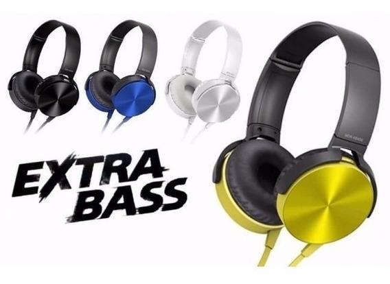 Fone De Ouvido Extra Bass Mex In-878 Preto Com Microfone