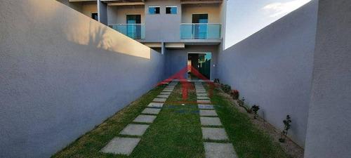 Casa Com 3 Dormitórios À Venda, 98 M² Por R$ 309.000,00 - Maraponga - Fortaleza/ce - Ca0102