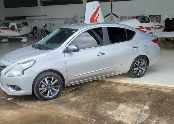 Nissan Versa 1.6 16v Sl Unique Aut. 4p Cvt Novo Na Garantia