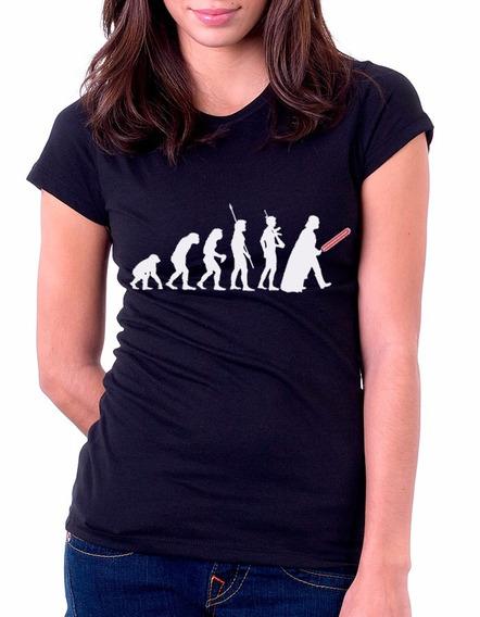 Camisa, Baby Look, Star Wars Darth Vader - Evolução Geek