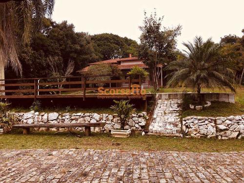 Chácara Com 2 Dorms, Centro, São Lourenço Da Serra - R$ 1.4 Mi, Cod: 4083 - V4083