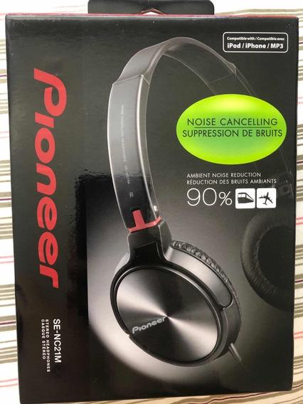 Fone De Ouvido Noise Canceling Pioneer / Bose Frete Grátis