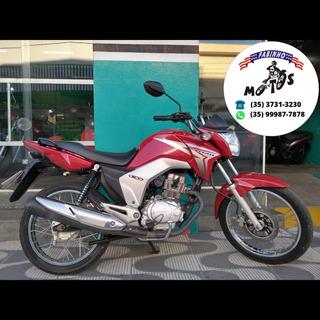 Honda Cg 150 Titan Esd 2014 Vermelha Novíssima!!!