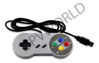 Control Pc 2 Piezas Snes Usb Classic Windows Super Nintendo