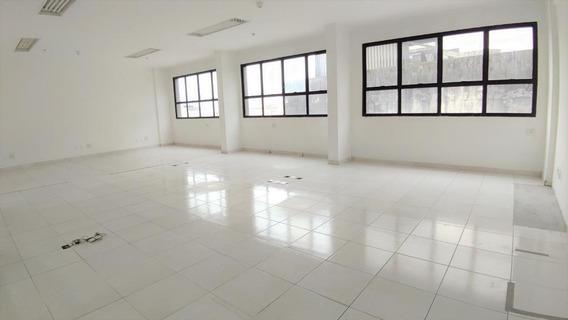 Sala Em Centro, Santos/sp De 81m² Para Locação R$ 1.950,00/mes - Sa305774