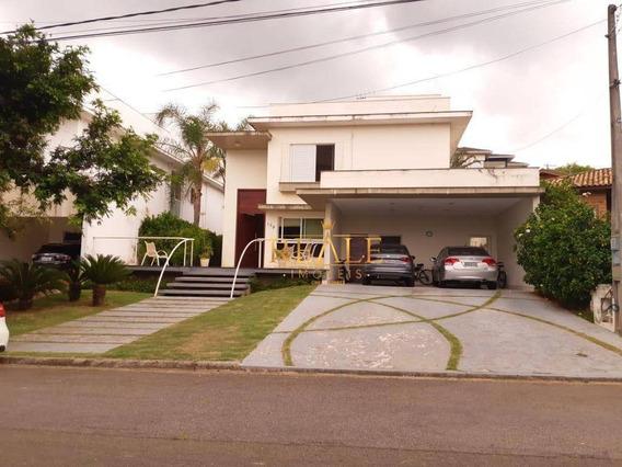 Casa Com 3 Dormitórios À Venda, 288 M² Por R$ 1.270.000 - Condomínio Alpes De Vinhedo - Vinhedo/sp - Ca1271