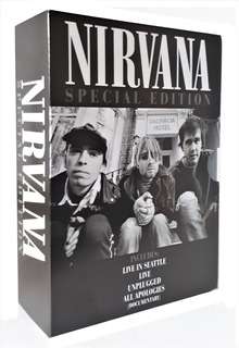 Nirvana Exitos Live In Seattle , Live , Unplugged Dvd