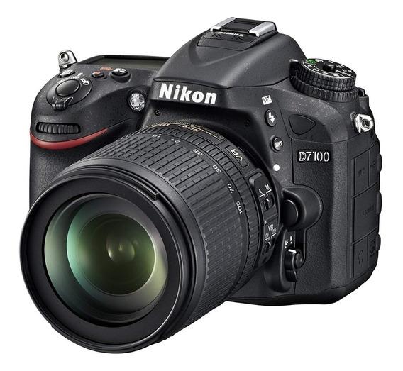 Cámara Nikon D7100 + Lente 300mm + Estuche Y Memorias