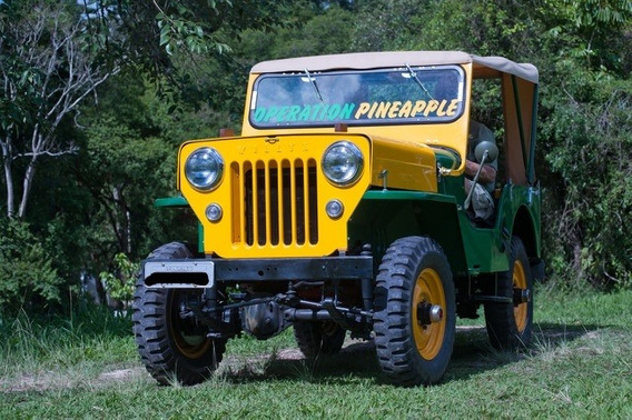 Jeep Cj3b Ano 1954 Restaurado