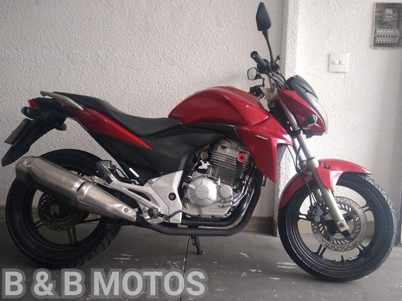 Honda Cb 300 R 2013 Vermelha N Fazer Next