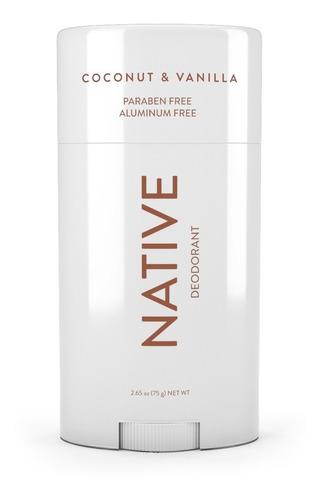 Desodorante 2.65 Onzas Aroma A Coco Y Vainilla Native
