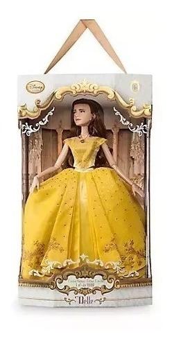 Boneca Bela Luxo Disney Store Novo Filme Bela E Fera