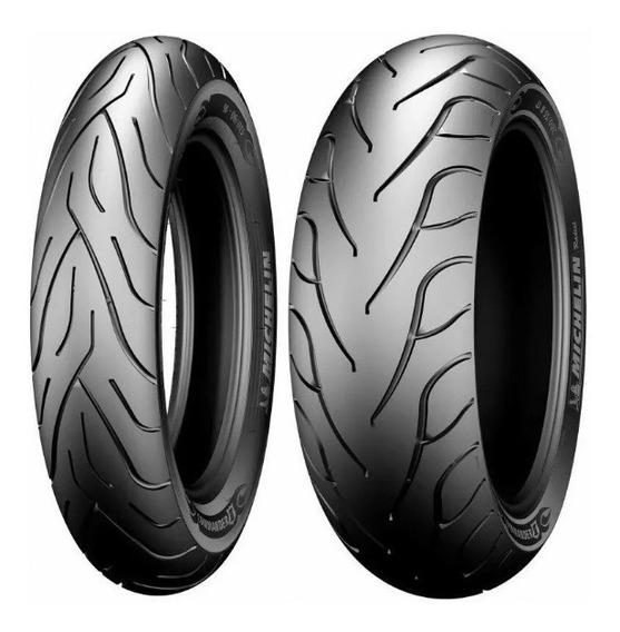 Par Pneu Michelin Commander Harley Fat Boy 140/75-17+200/55-
