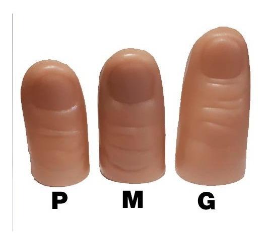 Dedeira - Dedo Falso, Polegar Mágico - 3 Tamanhos Diferentes