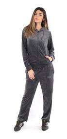 Conjunto Plush Adulto Feminino (blusa + Calça) Agasalho Luxo