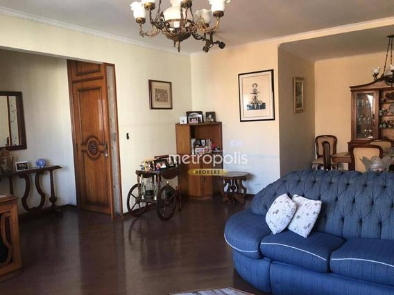 Apartamento Com 4 Dormitórios Para Alugar, 180 M² Por R$ 2.500/mês - Santo Antônio - São Caetano Do Sul/sp - Ap3428