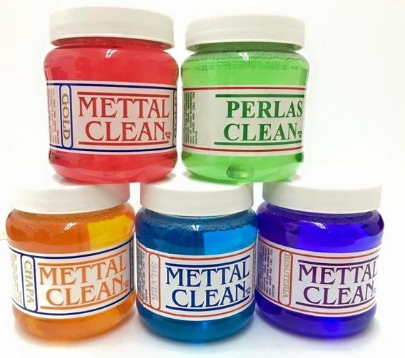 Mettal Clean Liquido Limpiador Joyeria Plata Oro Bisutería