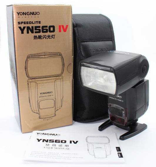 Flash Yongnuo Yn560 Iv - P/ Canon E Nikon