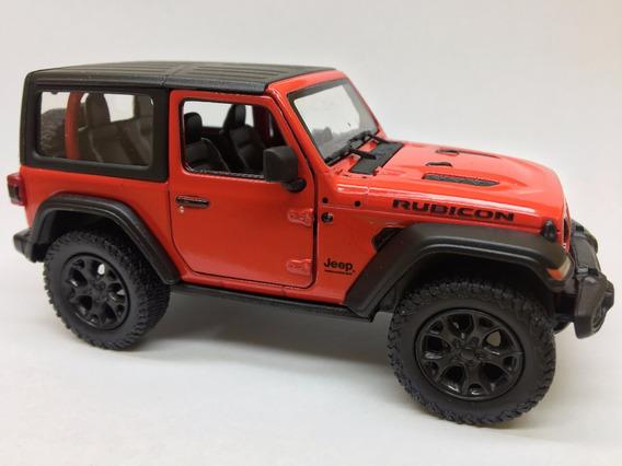 Miniatura Jeep Wrangler 2018 Cores Variadas Fechado