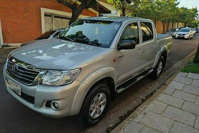 Toyota Hilux 2014 2.7 Sr Cab. Dupla 4x2 Flex Aut. 4p