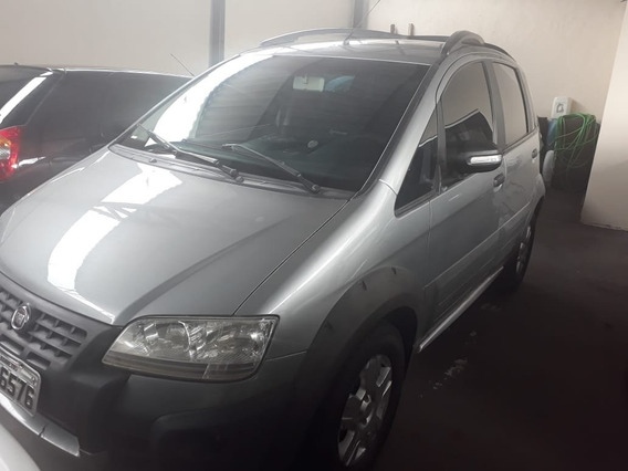 Fiat Idea Adventure 1.8 Cinza 2010
