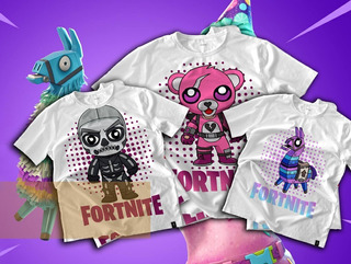 Pack Vectores Sublimación Remeras - Fortnite / 24 Diseños
