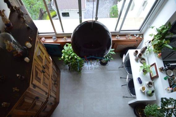 Loft Com 1 Dormitório À Venda, 50 M² Por R$ 480.000,00 - Brooklin Paulista - São Paulo/sp - Lf0036