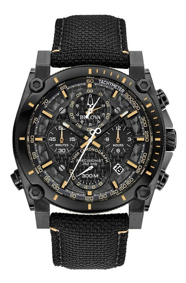 Relógio Bulova Masculino Precisionist 98b318 Com Etiqueta