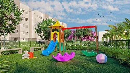 Imagem 1 de 30 de Apartamento  Com 2 Quartos À Venda, 41 M², Lazer, 1 Vaga, Elevador, Financia - Passaré - Fortaleza/ce - Ap1947