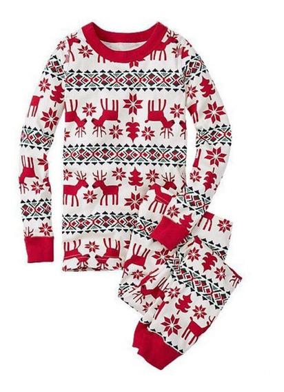 Traje De Pijamas Familiares De Navidad Traje De Ropa De Dorm