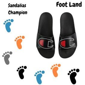 Sandalia Champion Negra