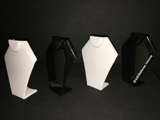 Exhibidor De Collares, Base, Acrilico, Soporte 12cm Altura