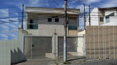 Sobrado Residencial À Venda, Vila Alzira, Santo André. - So21484