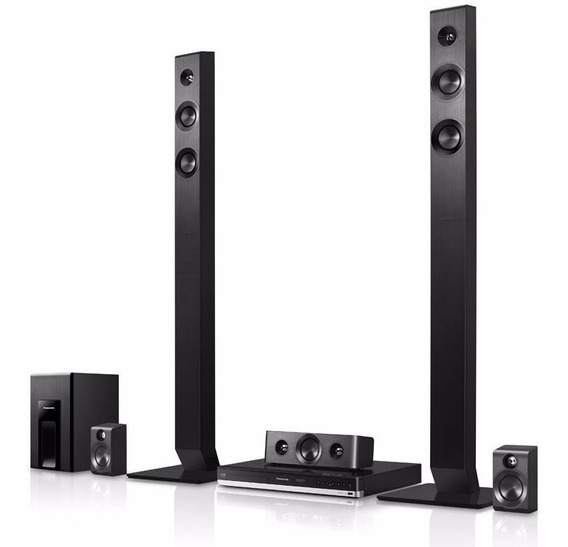Home Theater Panasonic 5.1 1000w Bluray 3d Nuevo Sellado