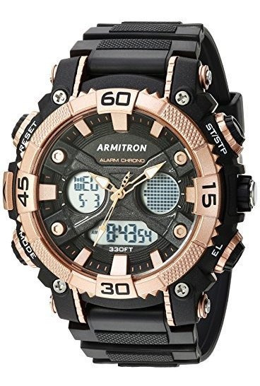 Armitron Sport 20/5108 Reloj Cronógrafo Analógico Y Digital