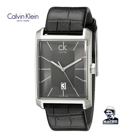 Reloj Calvin Klein Window K2m21107 En Stock Original Suizo