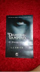 Livros - Diários Do Vampiro - 4 Livros