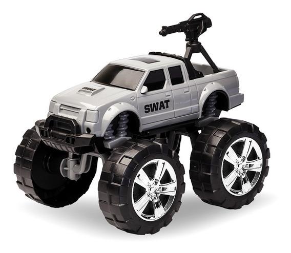 Carrinho De Policia Infantil Swat Brinquedo Menino Criança
