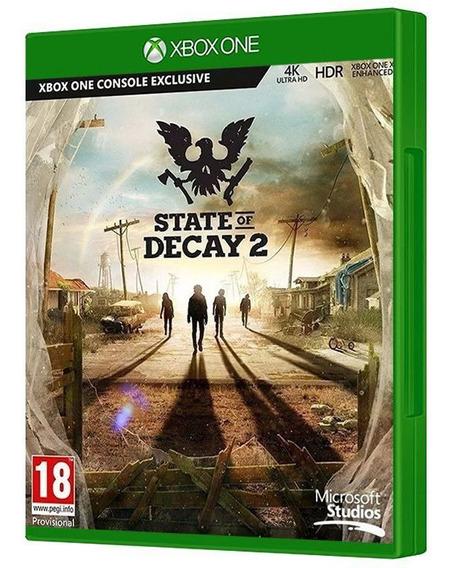 State Of Decay 2 - Xbox One - [ Mídia Física, Nova, Original E Lacrada ]