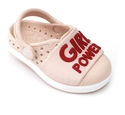 Babuche Plugt Joy Girl Power - Rosa/vermelho Frete Grátis