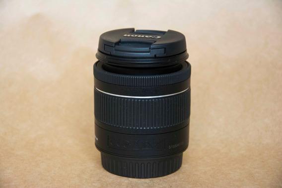 Lente Canon 18-55 Efs F4-5.6 Is Stm - Seminova Apsc