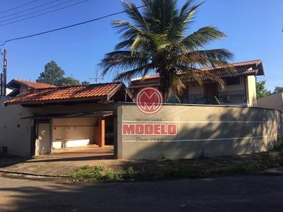 Casa Com 4 Dormitórios Para Alugar, 236 M² Por R$ 2.200/mês - Parque Primeiro De Maio - Piracicaba/sp - Ca2653