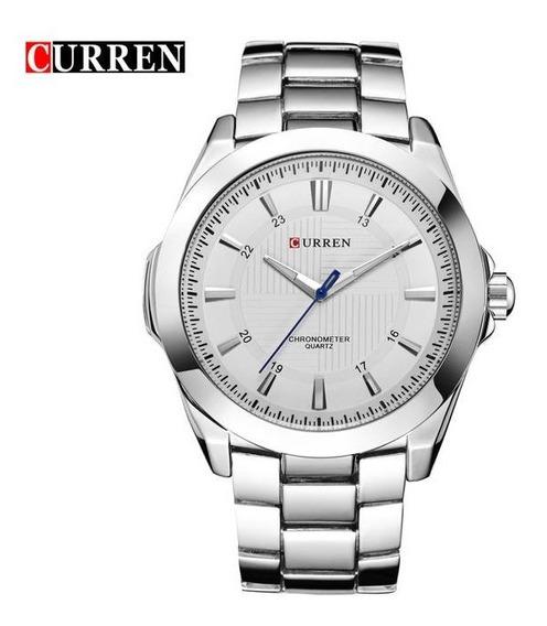 Relógio Social Luxo Original Analógico Funcional Promoção