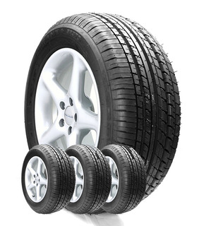 Combo 4u 215/55 R17 Turanza E R 370 Bridgestone Envío Cuotas