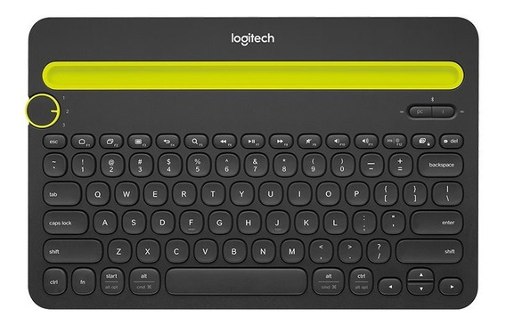 Teclado Logitech K480 Bluetooth Multi Pc Tablet Smartphone