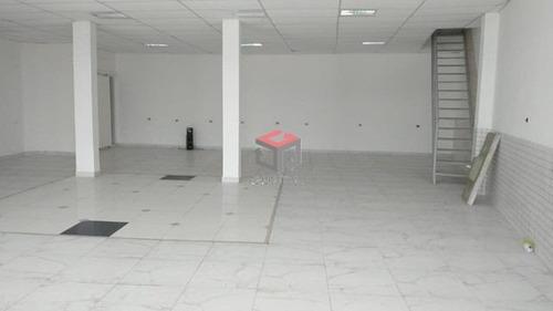 Imagem 1 de 3 de Salão Comercial Para Locação, 240 M² - Sobreloja- ,jordanópolis - São Bernardo Do Campo / Sp  - 97908