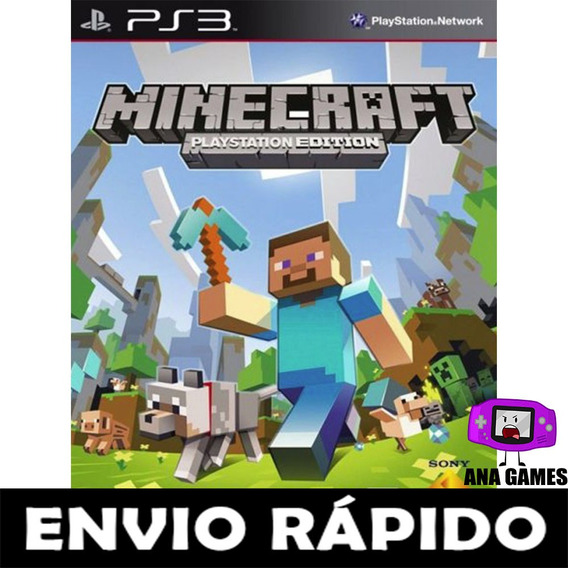 Ps3 Minecraft - Jogo Digital
