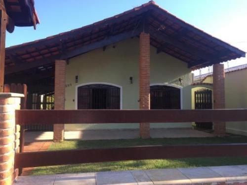 Imagem 1 de 12 de Casa No Litoral Sul, Com 3 Quartos Em Itanhaém-sp 7492pc